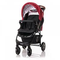 Прогулочная коляска Lorelli Daisy Set, с автокреслом, черный с красным (23028), фото 1