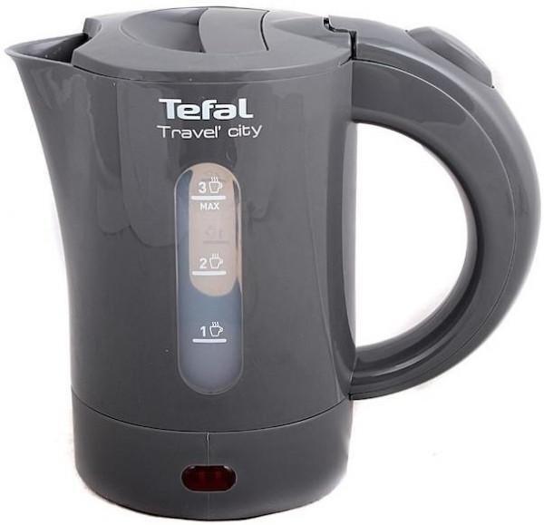 Электрочайник Tefal, 0,5 л, серый (KO120130)