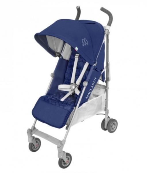 Прогулочная коляска Maclaren Quest Blue Silver, синий с серым (WD1G040042)