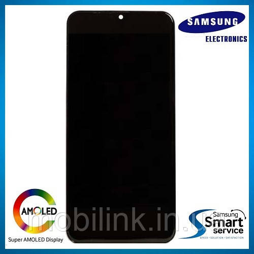 Дисплей Samsung M205 Galaxy M20 Чёрный Black GH82-18682A оригинал!