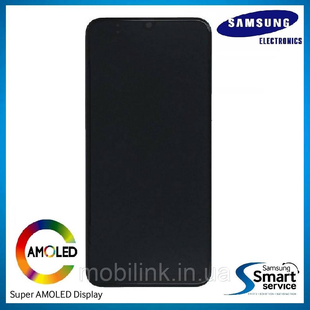 Дисплей Samsung M215 Galaxy M21 Чёрный Black GH82-22509A оригинал!