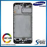 Дисплей Samsung M215 Galaxy M21 Чёрный Black GH82-22509A оригинал!, фото 2