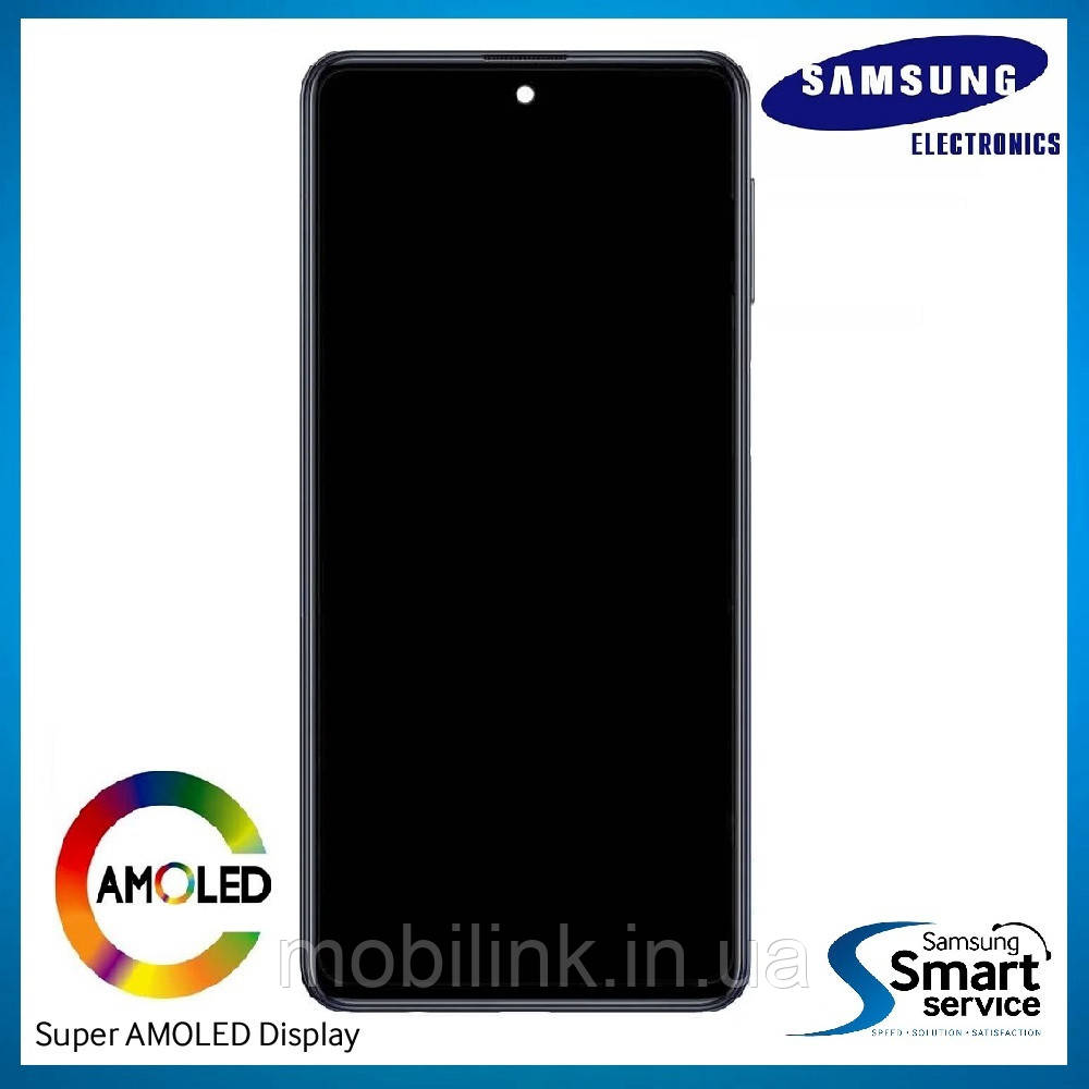 Дисплей Samsung M317 Galaxy M31S Чёрный Black GH82-23774A оригинал!