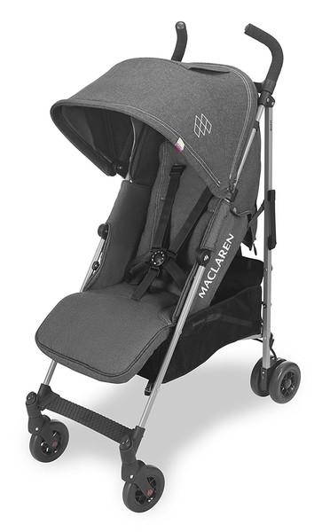 Прогулочная коляска Maclaren Quest Denim Charcoal, серый джинс (WD1G043322)