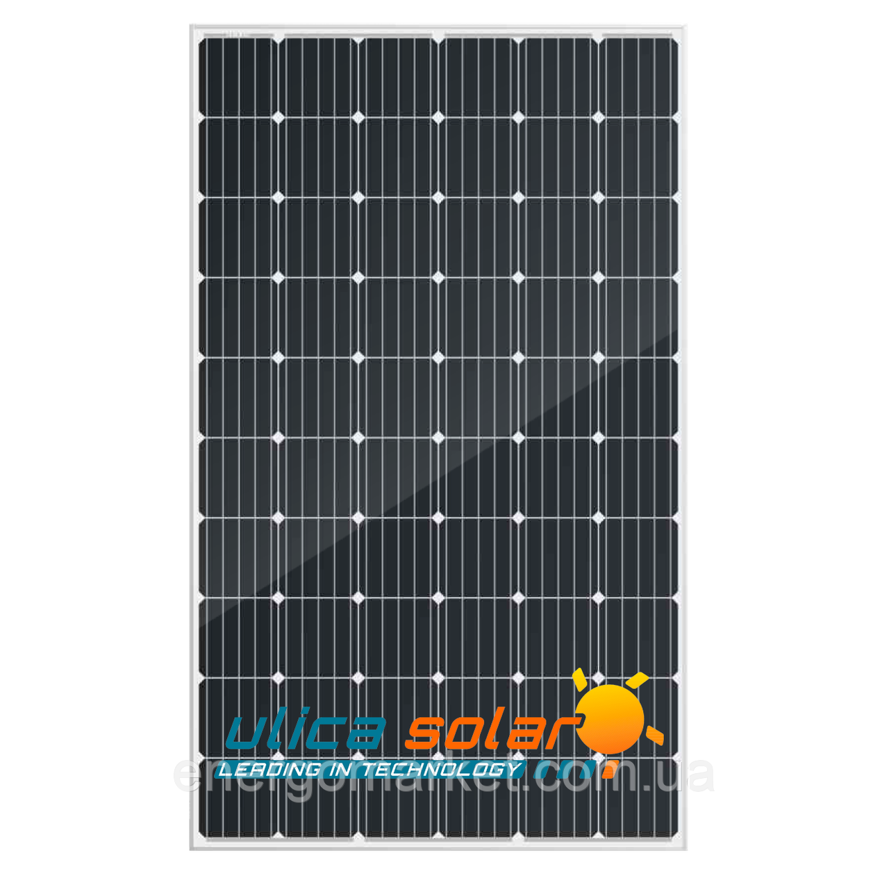 Монокристаллическая солнечная панель Ulica Solar UL-320М-60 PERC (320 Вт, 5 ВВ, 60 full cell)