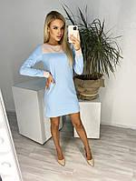 Женское прямое повседневное платье с карманами, фото 1