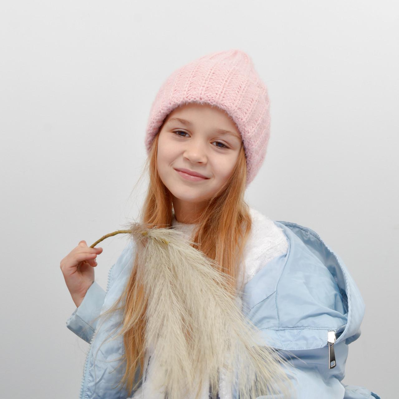 Дитяча шапка NordNeo 3432 рожевий