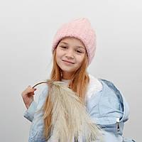Дитяча шапка NordNeo 3432 рожевий, фото 1
