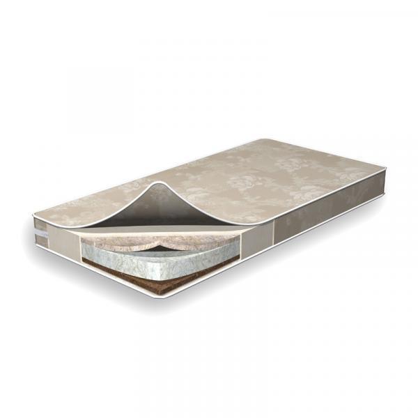 Матрас Flitex Len-Hollow-Cocount, 120х60х8 см, лен-hollcon-кокос (FT10.2.07)