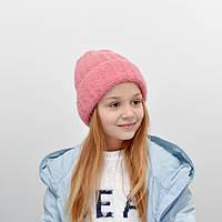 Детская шапка NordNeo 3432  темный розовый, фото 1