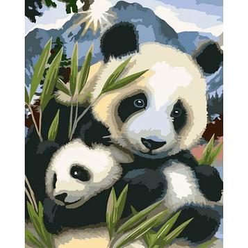 Картина за номерами 40х50 см DIY Панди (FX 31214)