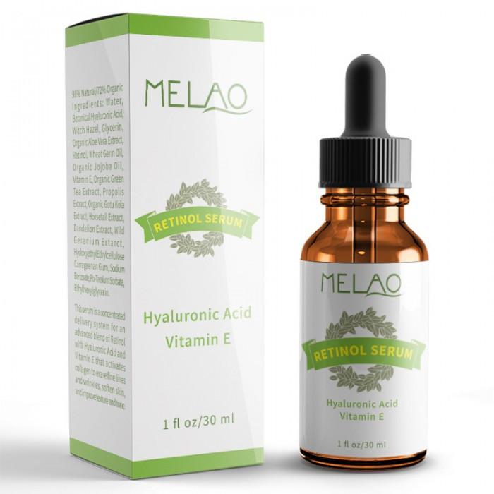 Сыворотка с 2.5% ретинолом и витамином Е MELAO Retinol Serum Vitamin Е, 30 мл