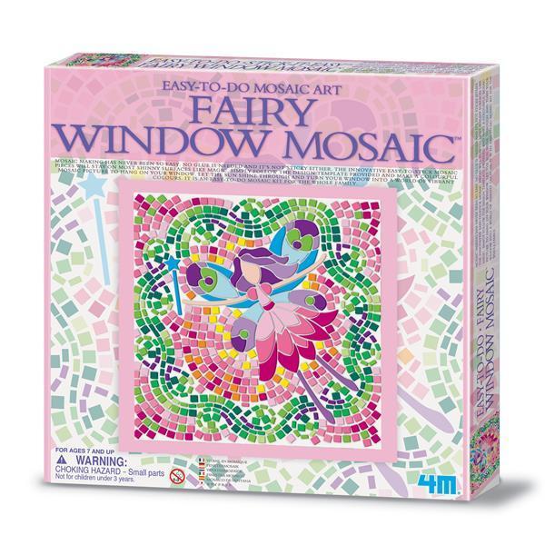 Набір для творчості 4M Мозаїка на вікно (в асортименті (Фея/Русалка/Принцеса) (00-04565) GP