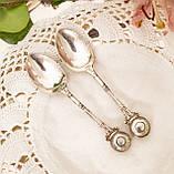 Посеребренная чайная ложка, E.P.N.S (серебрение), Англия, винтаж, фото 3