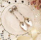 Посеребренная чайная ложка, E.P.N.S (серебрение), Англия, винтаж, фото 4