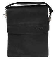Удобная мужская стильная сумка Polo art. 3385-1 черный, фото 1