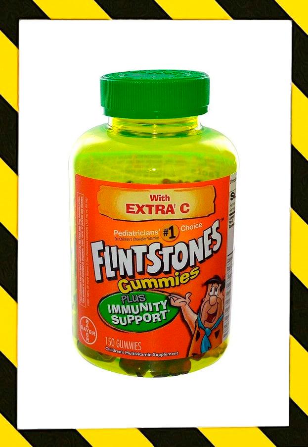 Flintstones, Детский мультивитамин, плюс поддержка иммунитета, 150 жевательных конфет