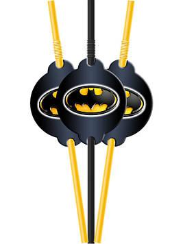 """""""Бетмен: Чёрный"""" - Трубочки """"Стилизованные"""""""