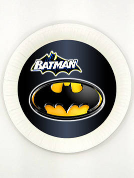 """""""Бетмен: Чёрный"""" - Тарелочки 18 см."""