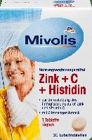 Биологически активная добавка Mivolis Zink + C Histidin, 30 шт., фото 1