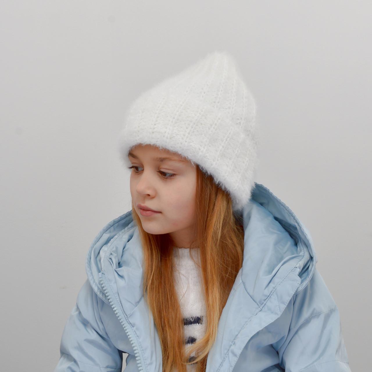 Детская шапка NordNeo 3432 белый