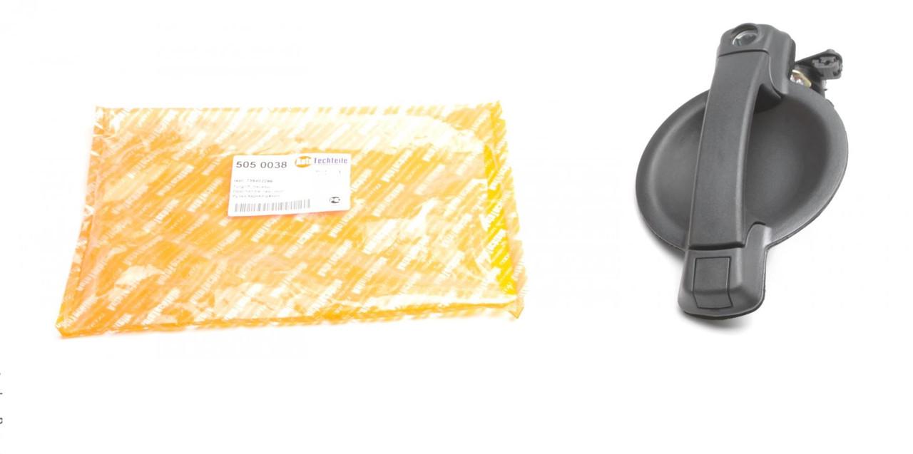 Ручка двери задней (наружная) Fiat Doblo 01- (5050038) AUTOTECHTEILE
