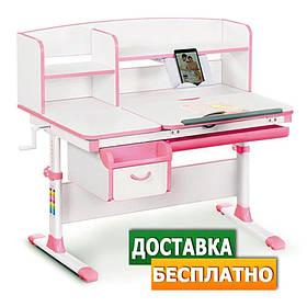 Детская парта стол растущая для учебы Evo-kids EVO-50