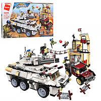 Конструктор для детей Военный транспорт
