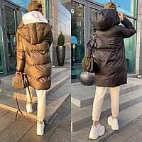Шикарная зимняя двухсторонняя куртка, фото 1
