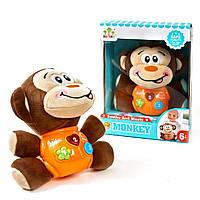 Детская мягкая игрушка погремушка. Погремушка с музыкальными и световыми эффектами.