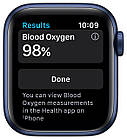 Умные часы Smart Watch Apple Watch Series 6 GPS, 40mm Blue Aluminium Case with Deep Navy Sport Band, фото 7