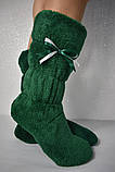 Женские домашние махровые сапожки,тепло и уют!, фото 7