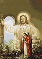Набор для вышивки крестом Luca-S B411 Иисус стучащийся в дверь