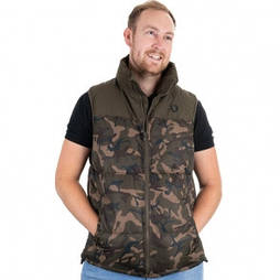 Безрукавка из полиэстера Fox Camo / Khaki RS Gilet XL