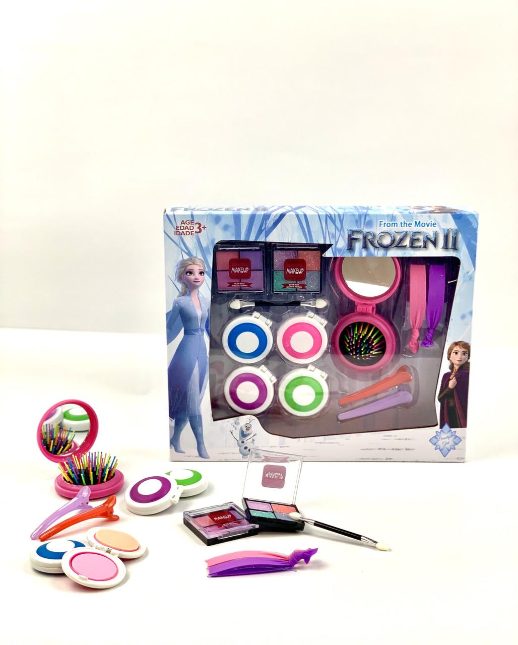 Игровой набор детской декоративной косметики Frozen для девочки. Косметика для девочек.Детская косметика.