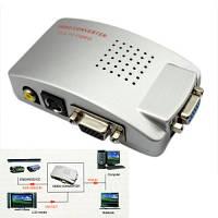 Конвертер VGA на AV S-Video TV (коробка)