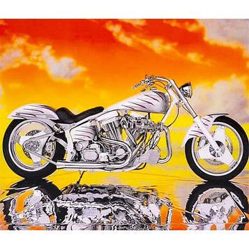 Картина по номерам 40х50 см DIY Харли Дэвидсон (FX 30406)