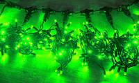 Светодиодный занавес (0,9х3м) Плей Лайт Зелёный, фото 1