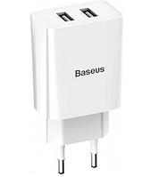Сетевое зарядное устройство Baseus Speed Mini Dual U Charger White