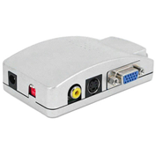 Конвертер VGA на AV S-Video TV (коробка) , фото 2