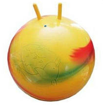 Мяч для фітнесу  рожки мульт 758, 75см