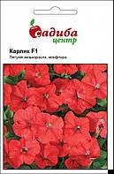 Насіння Петунія Карлик F1, червона, 10 гранул.  Cerny (Чехія), фото 1