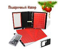 Подарочный набор нумизмату , Альбом для монет + весы + лупа., фото 1