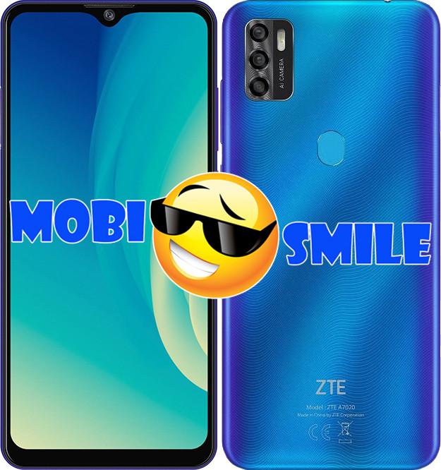 Смартфон ZTE Blade A7s 2020 2/64Gb Blue Гарантия 12 месяцев