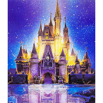 Картина за номерами 40х50 см DIY Замок Попелюшки (FX 30517)