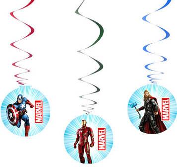 """""""Мстители"""" - Спиральки 6 шт. в уп."""