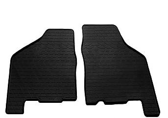Коврики в салон резиновые передние для  ВАЗ 2114  2001-2013   Stingray (2шт)