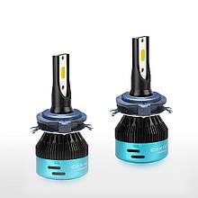 LED лампы головного света H7 CX6D04 COB Mercedes Benz C300 C350 ML350 CLK Ford Edge 5600Lm 50Watt