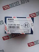 0281002908 BOSCH Датчик давления топлива в рейке