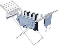 Сушилка для белья Heated Airer With Wings 148*54*93 см напольная электросушилка для белья, Сушилки для белья